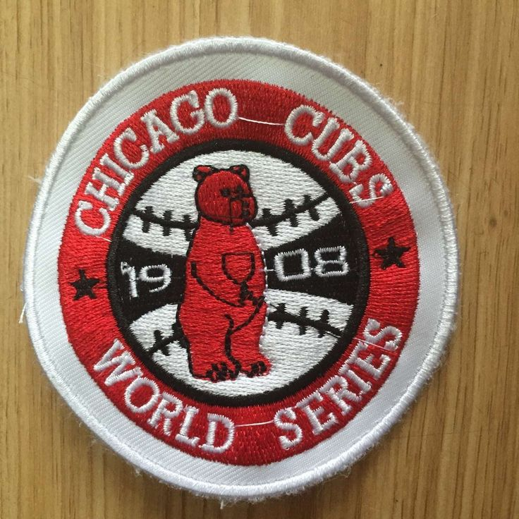 Cubs 1908 World Series Patch