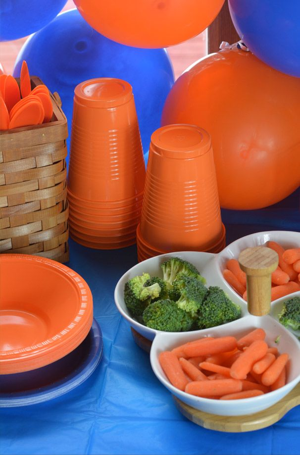Nerf Party Food