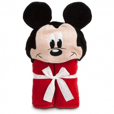 Personalizable MICKEY MOUSE Hooded Towel