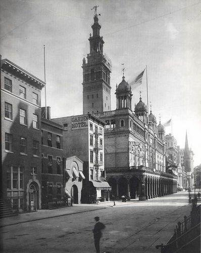 Madison Square Garden II (1890 1925) New York City