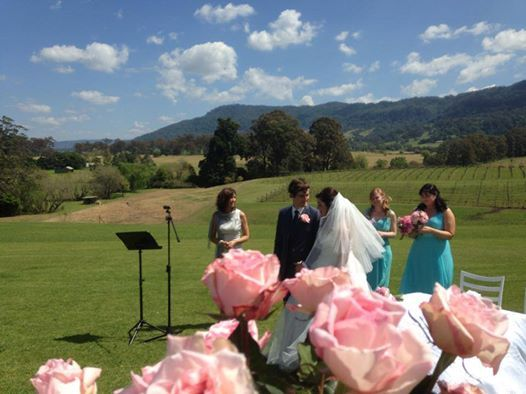 Wedding Celebrant Wollongong Creative Celebrations by Mary $500