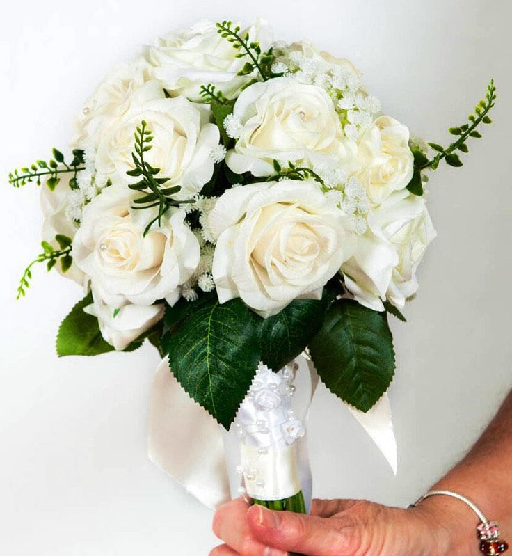 Excited to share the latest addition to my #etsy shop: Ivory rose wedding posy