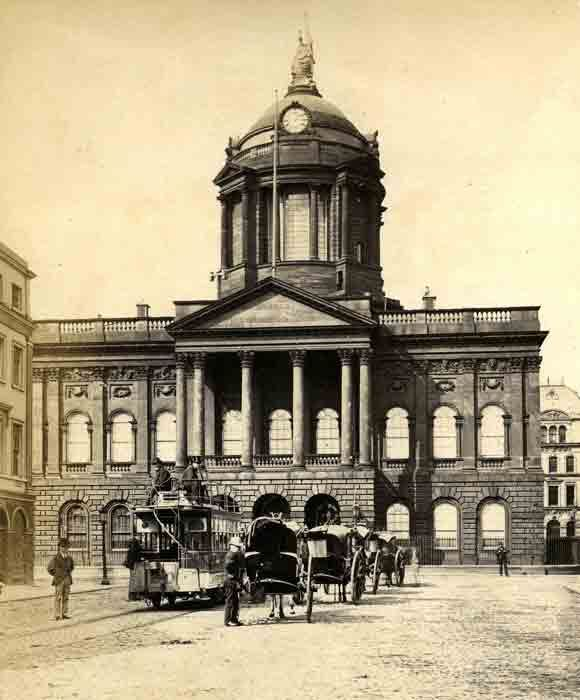 Liverpool Town Hall, Castle Street 1875 | Streets of Liverpool..once the castle of liverpool stood here..