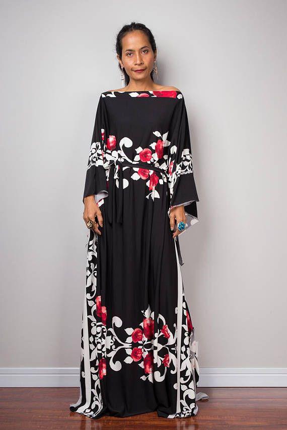 d4f4aa7d15124 Kaftan Boho Dress Maxi dress Oversized dress Loose fit   Kaftan ...