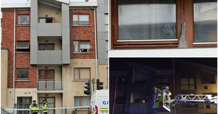 Eleven people were rescued from the apartment and three children were taken to hospital