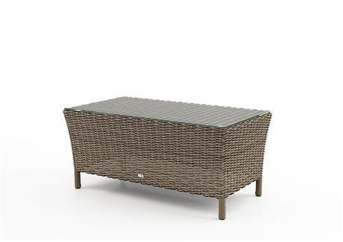 firenze stolik z umeleho ratanu pieskovy