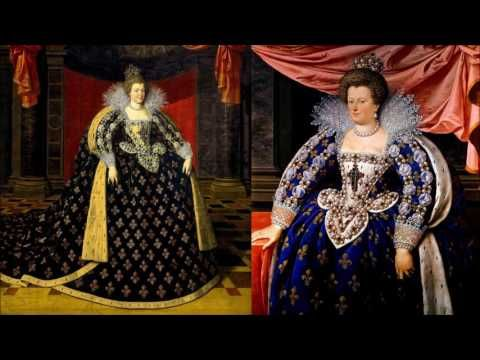 Мария Медичи - королева Франции, мать Людовика 13-цатого и бабушка Людовика 14-цатого. 13.12.2014 - YouTube