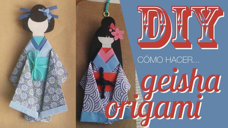 Este DIY de Geishas de papel tienen un montón de posibilidades. Aprende a hacerlas y podrás crear un regalo perfecto. (Abre para ver más abajo) ♥ ♥ ♥ ♥ ♥ ♥♥ ...