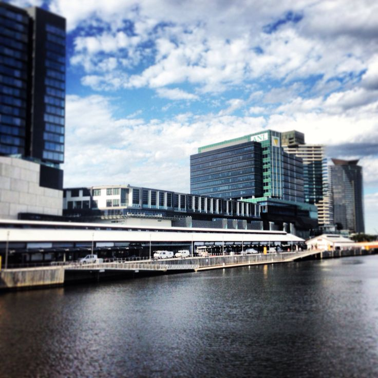 What a view! Showtime Events Centre, South Wharf.