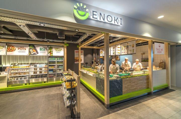 Enoki Fast Food Restaurant by VBAT, Utrecht – Netherlands » Retail Design Blog