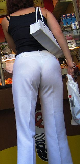 Candid see through panty remarkable