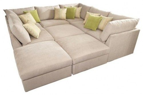 This would be perfect in my living room! I dont need space for a coffee table...or walking space do I?