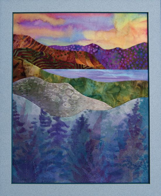 Points of View Landscape Quilts . Valerie Hearder