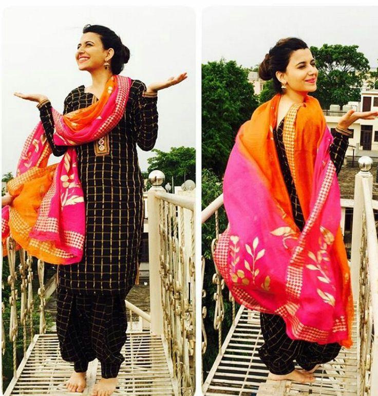 Punjabi Suit.. #nimratkhaira #punjabisinger❤