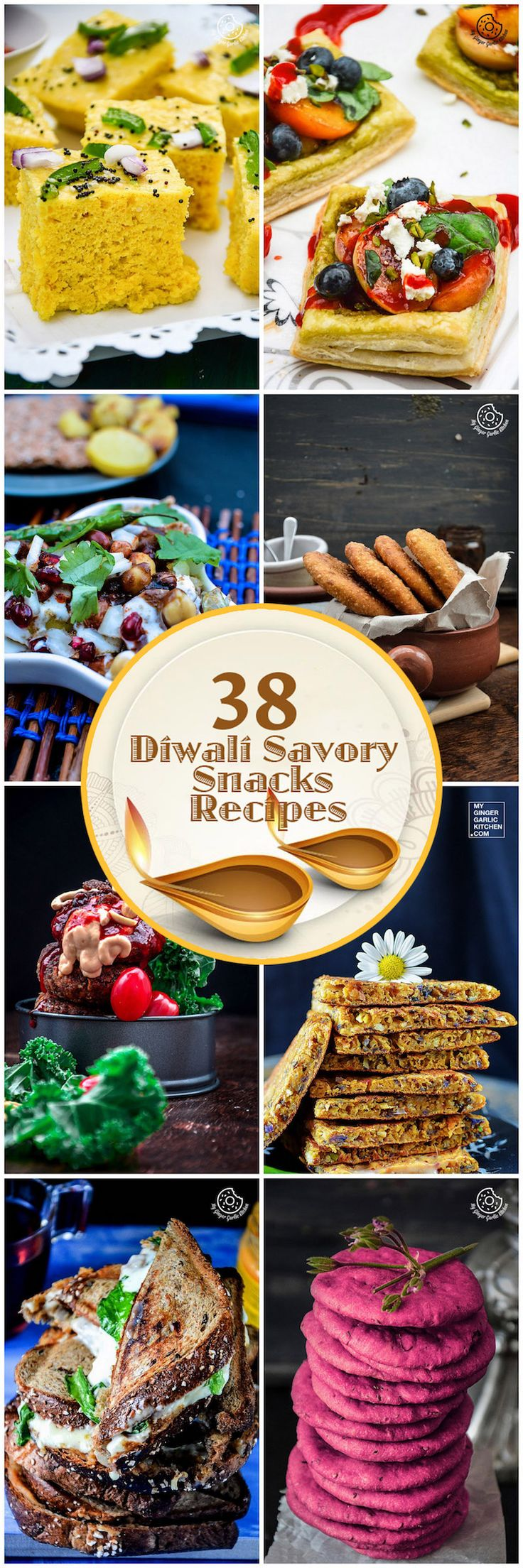 38 Diwali Savory Snacks Recipes You Would Love To Try! #diwali #snacks #vegetarian
