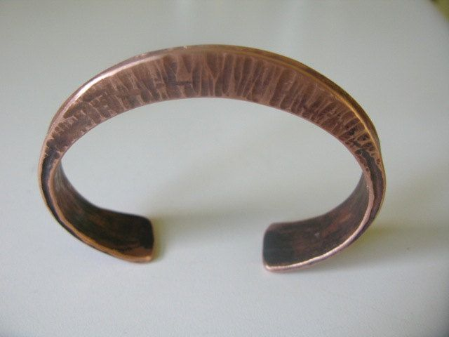 Forged bracelet,  copper cuff, bangle, healing properties of copper, hand made, unique bracelet for him or her, unique piece of jewelry