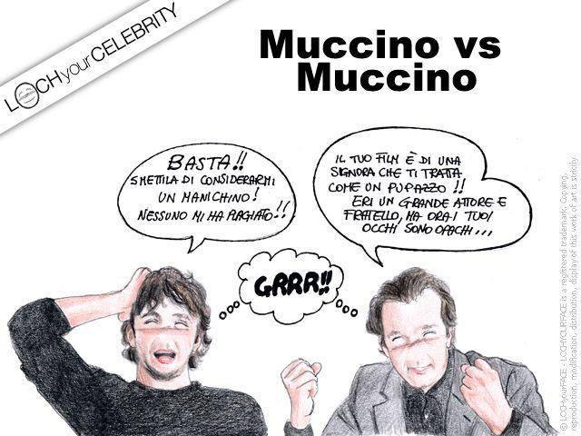 Lochyourface ha loccato le celebs dell'ultima settimana di novembre 2014 - I fratelli Muccino che si azzuffano ancora sui social. Si ti piace Repin!  #GabrieleMuccino #SilvioMuccino #celebs #celebrities