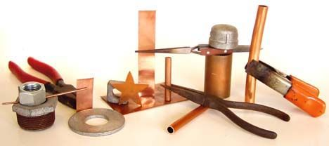 How To Solder Copper Sheet Metal Amp Wire Tutorial Copper