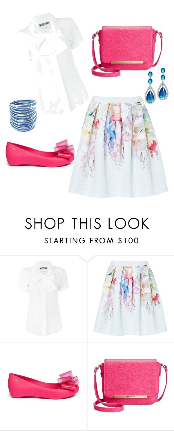"""Untitled #35"" by balog-viki on Polyvore featuring Moschino, Ted Baker, Melissa, Tommy Hilfiger and Bling Jewelry"