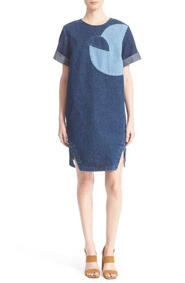 Rachel Comey 'Scribe' Denim Shift Dress