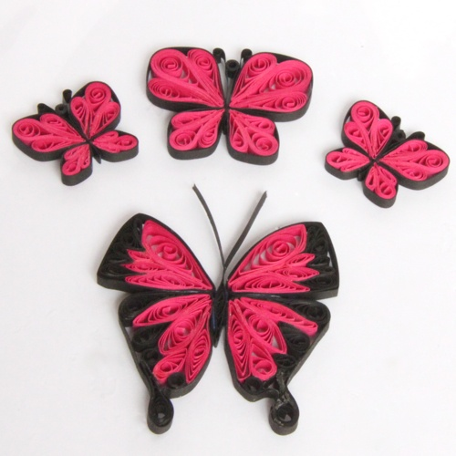 Paper quilling butterfly tutorial paper art quilling for How to make your own quilling paper