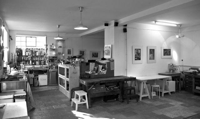 So sieht die AtelierWerkstatt aus...