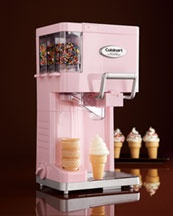 love to have one of these ~ notice the compartments for all the sprinkles ~ so cute ~ by Cuisinart