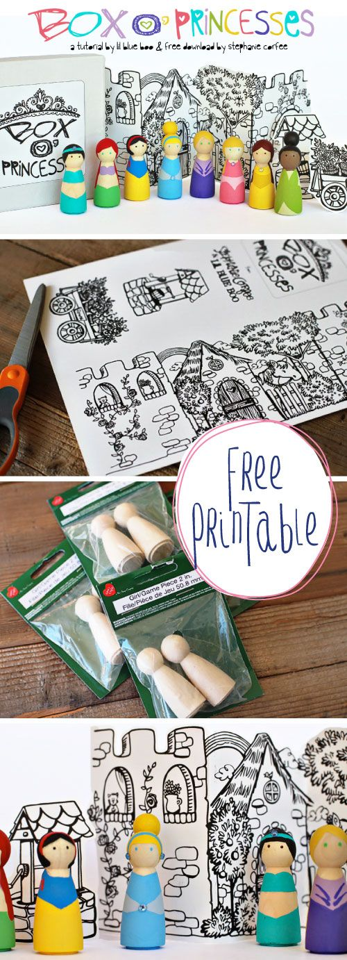 Free Printable & Tutorial!  This would make a fun gift or craft project.