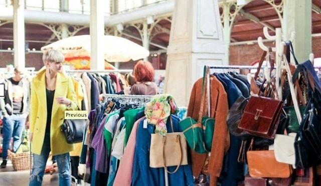 Vintage en Bruselas, compras de segunda mano (Marolles)