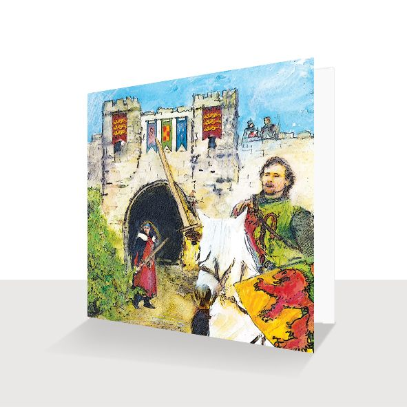 Battle of Lincoln 1217 Greeting Card, Unique Greeting Cards Online, Buy Luxury Handmade Cards, Unusual Cute Birthday Cards and Quality Christmas Cards