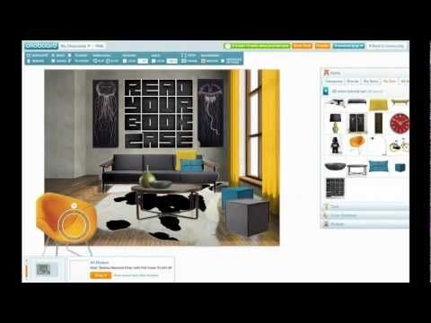 How To Create 3D Room Designs On Olioboard VIDEO