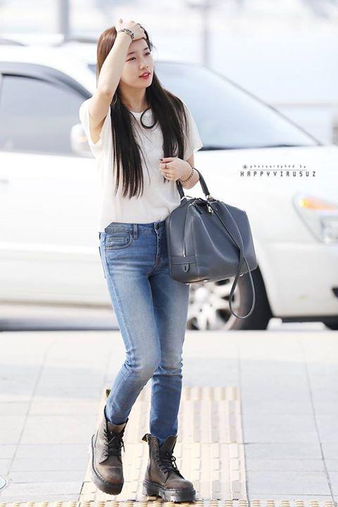 Suzy, airport