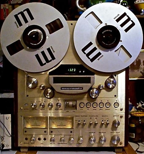 The Marantz 7700 Reel To Reel Tape Deck was manufactured for them by Akai but was designed by Marantz and sounded nothing like an Akai. A wonderful recorder, as good as a Revox A77 or Tandberg 10X.