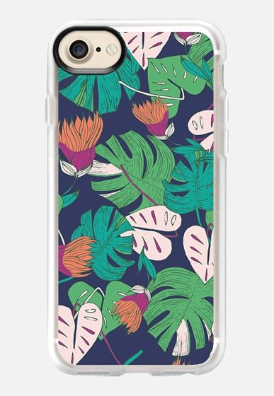Tropical Iphone case pattern by Patricia Sodré for Casetify  #patriciasodre #tropical #iphonecase #monstera #floral #summer #casetify