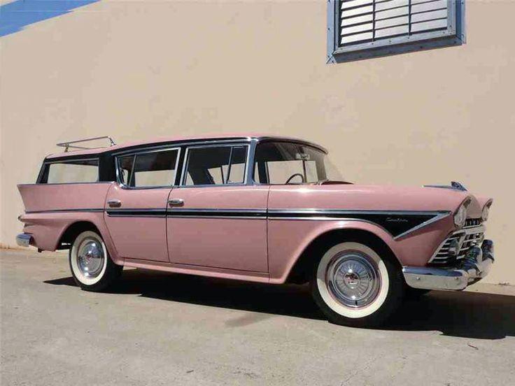 1958 Rambler Cross Country station wagon