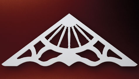 1000 images about gable pediments on pinterest products for Fypon gable decorations