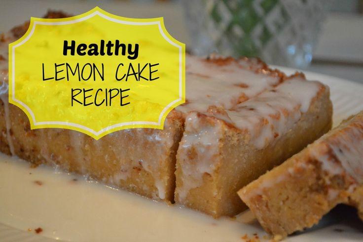Healthy Lemon Cake Recipe. No Butter...just yumminess! LuvaBargain.com