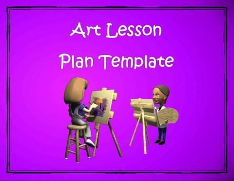 17 best images about art lesson plan template on pinterest for Facebook lesson plan template