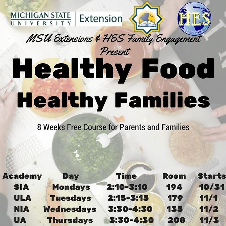 SIA Healthy Food Healthy Families Course for Parents Starts 10/31/2016 .. Register Today For Free! http://ift.tt/2ekHj9t
