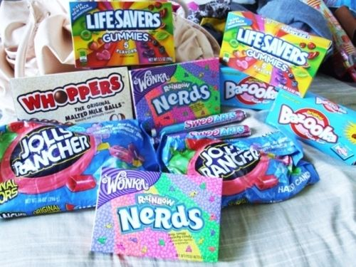 yeah i love sweetes a lot x << I love all of these but I haven't had Bazooka? Yeah :)