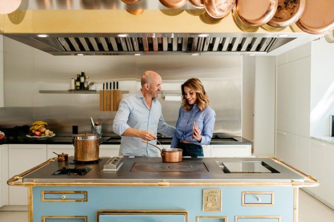 Mark And Cary Deuber S Professional Grade Kitchen Is An At Home
