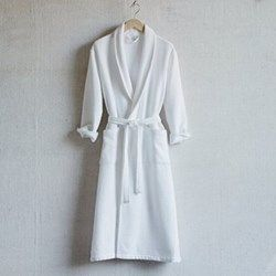 Unisex bath robe medium The White Company at The Wedding Shop | Weddings | wedding ideas | wedding gift | wedding gifts for bride and groom | wedding gift ideas | wedding gift for couple | wedding presents | unique wedding gifts | wedding present ideas | wedding presents for couples | wedding gift list | bride | groom | wedding planning | inspiration | gift idea. Add to list >>> https://www.weddingshop.com/brand-landing/The-White-Company