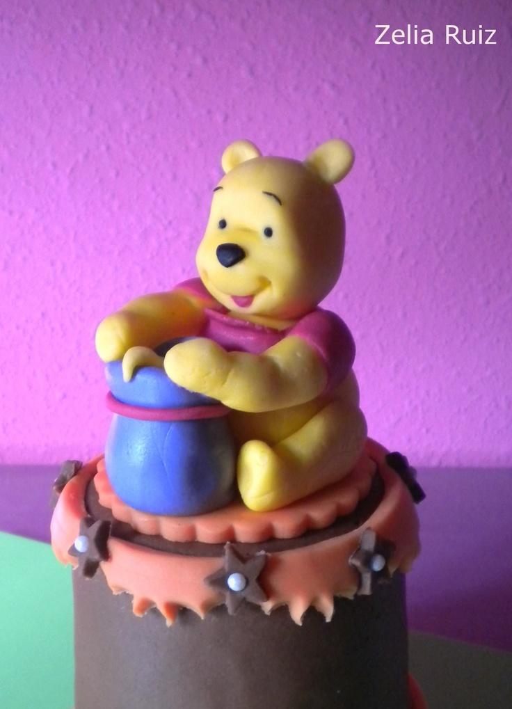 Modelado Fondant Winnie the pooh