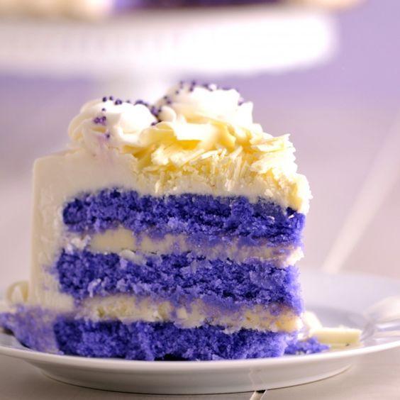 Purple Velvet cake: