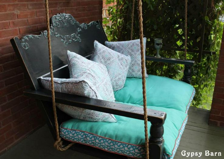 This Porch Swing Is From Gypsy Barn. Itu0027s Made Out Of An Old Antique Head