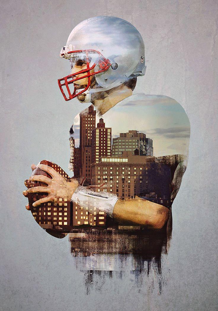 Tom Brady by Michael Vincent Manalo.