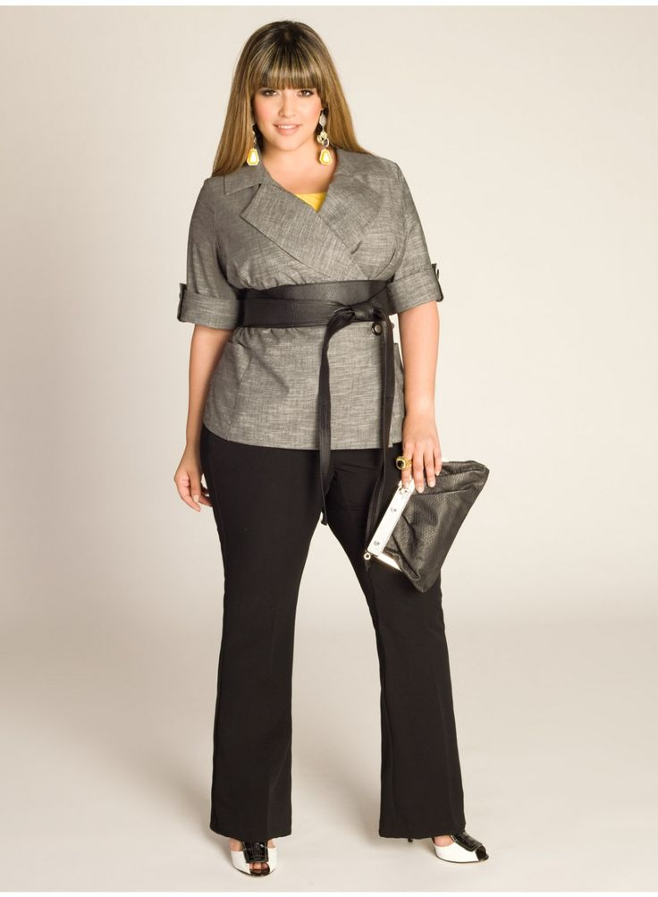 Allegra Summer Jacket from IGI.com. Love this for work!