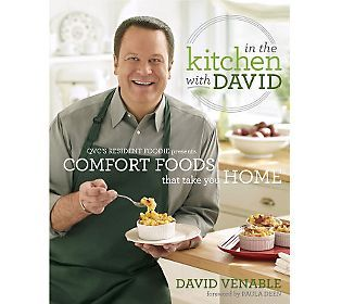 QVC Program Host & Foodie David Venable just released his first-ever #cookbook. We can't wait to add this to our collection and cook our way through his delicious recipes.