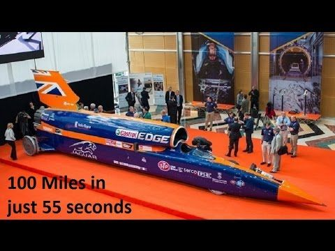 Must Watch Worlds Fastest and Modern Car 1000 Miles in Just 55 Seconds