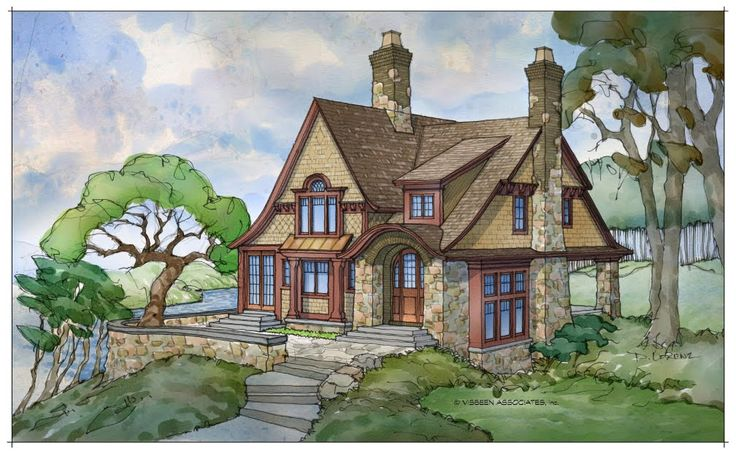 1000 images about storybook homes on pinterest for Visbeen architects floor plans
